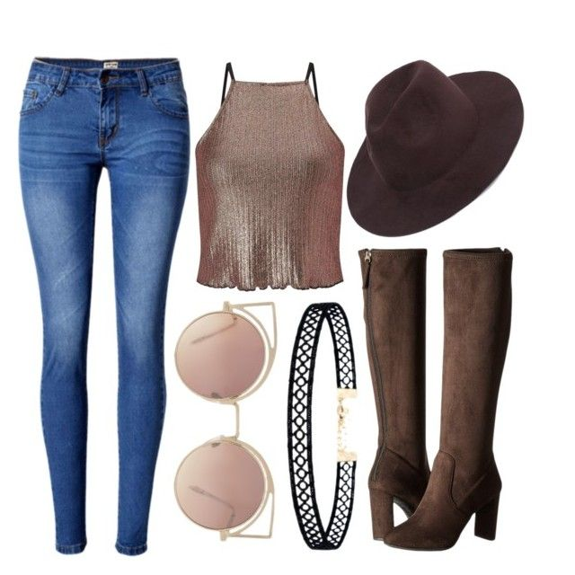 """""""Untitled #014"""" by liaperezmorales on Polyvore featuring Miss Selfridge, WithChic, Nine West, LULUS and MANGO"""