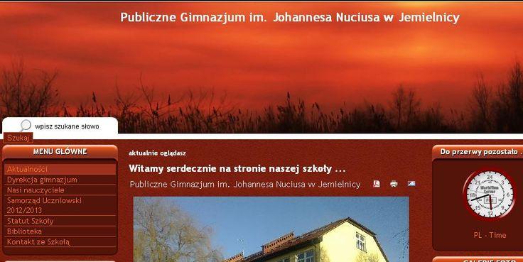 Pani Maria Jelito, dyrektor Gimnazjum w Jemielnicy, opisała, w jaki sposób jej Placówka stała się prawdziwą e-szkołą. Sprzęt jest ważny, ale przede wszystkim liczą się ludzie. Pani Maria ma już kolejne pomysły i plany TIK-owe na przyszły rok. http://szkolazklasa2012.ceo.nq.pl/dokument_widok?id=5923