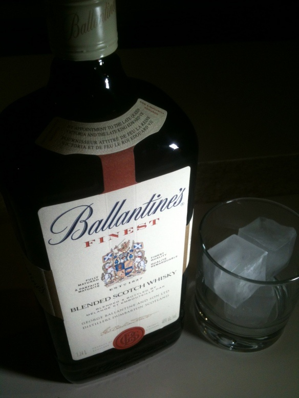 Ballantines Scotch. #Drink