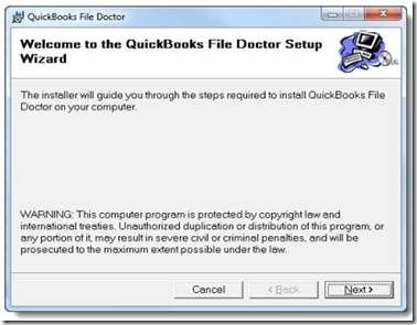 how to install and use quickbooks file doctor 1 833 400 4018