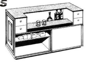 Build the Home Bar of Your Dreams with One of These 8 Free Plans: Free Bar Plan from Canply