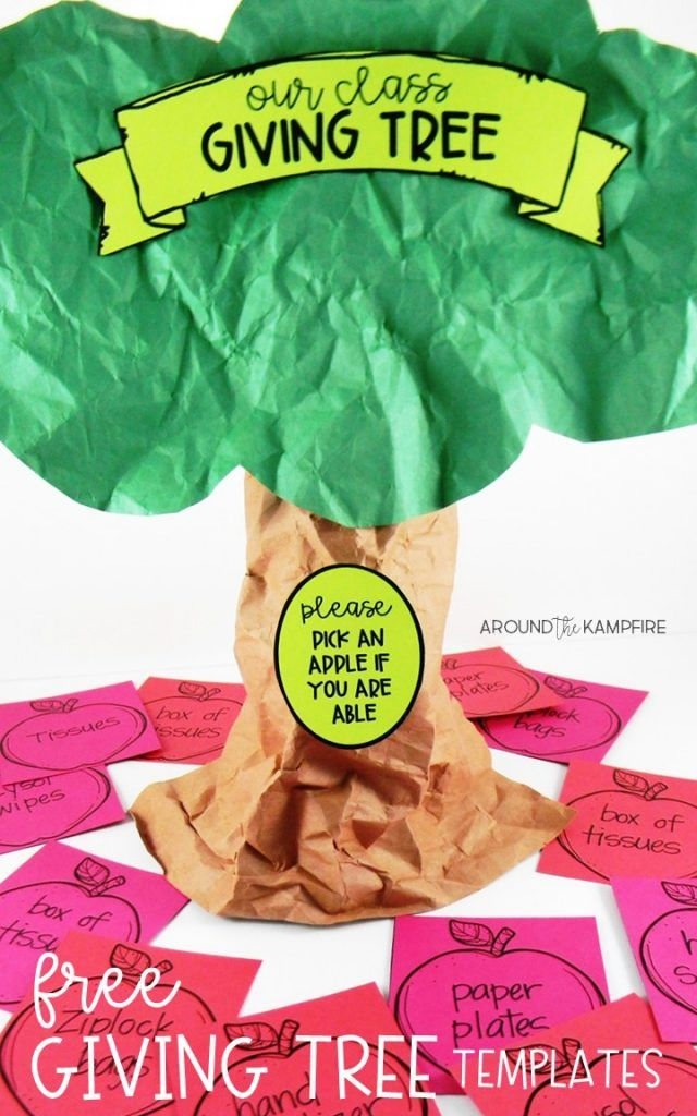 10 Tips for Managing Meet the Teacher Night- Lots of back to school ideas for organizing, communicating, and managing back to school night. Download the FREE templates to make this classroom giving tree for your back to school open house.
