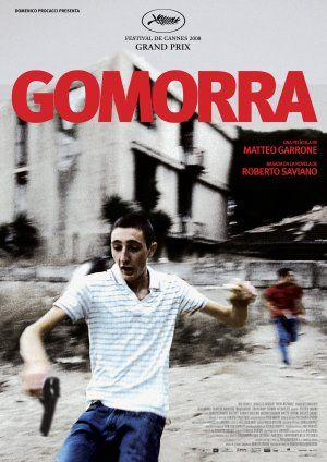 """Gomorra"" (2008)/Gomorrah/  2008 Neapolitan-language Italian film directed by Matteo Garrone,  It deals with the Casalesi clan, a crime syndicate within the Camorra — a traditional criminal organization based in Naples and Caserta, in the southern Italian region of Campania."