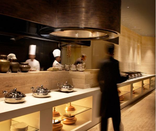 Restaurant With Open Kitchen: 30 Best Images About Buffet Design On Pinterest