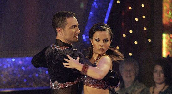 Louisa Lytton and Vincent Simone dance the Paso Doble