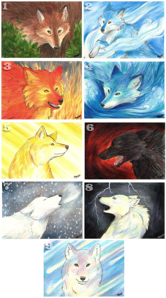 Ice, Wolves and Fire o...