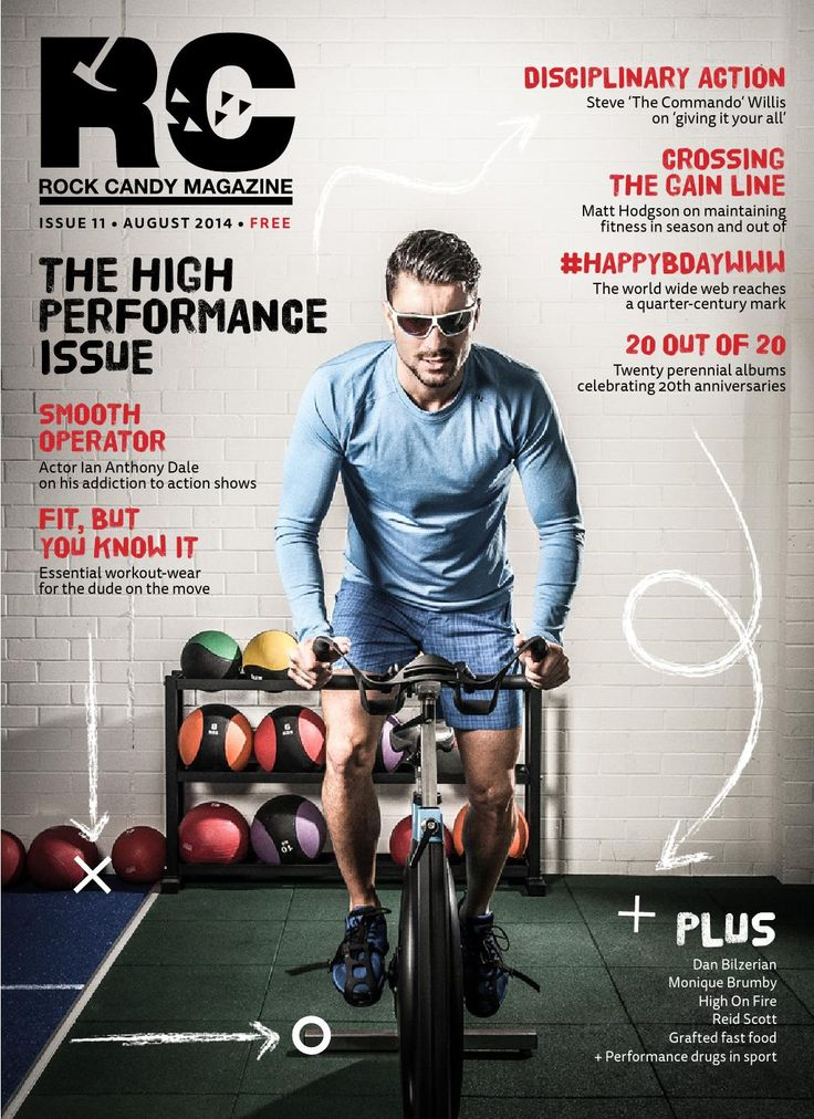 """ROCK CANDY MAGAZINE #11  The new issue of Rock Candy Magazine dedicated to everything """"High Performance"""""""