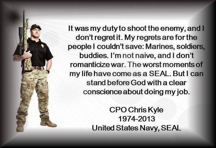 Chris Kyle- never will be forgotten