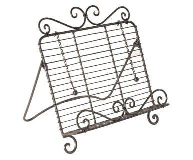 Подставка для книги рецептов - кованое железо, 32х34 см