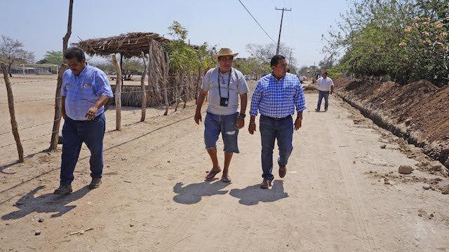 Cumple Félix Serrano con dignificación de barrios zapotecas