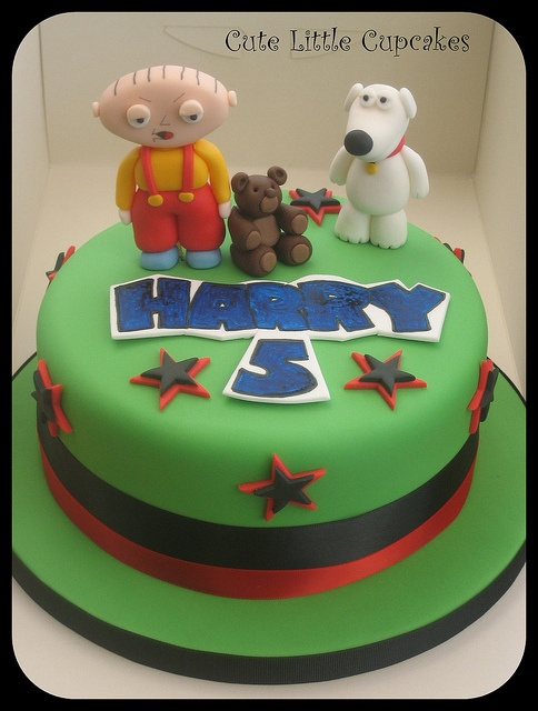 #Family Guy Cake  repin and show some love!