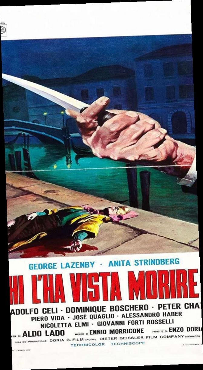Chi L Ha Vista Morire Film Completo Hd Streaming Italiano Film Watch Horror Movie Posters George Lazenby