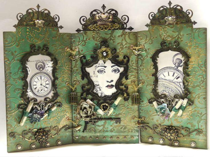 LaBlanche Clock Collage & Pocketwatch