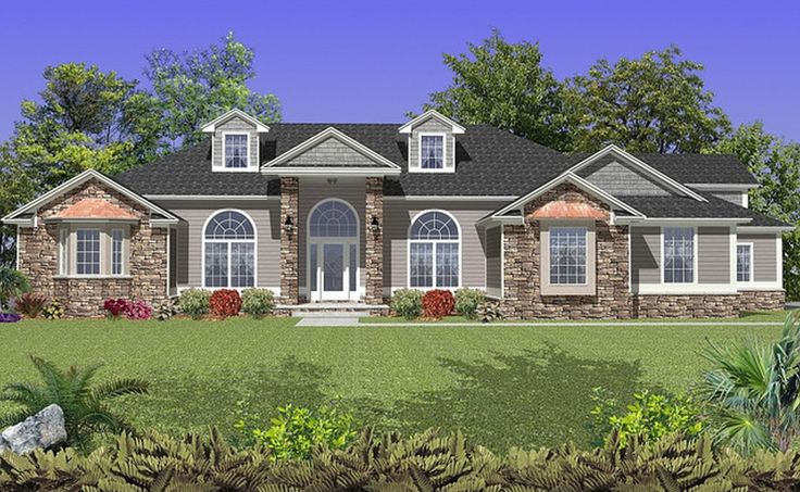 Modern Ranch House Plans   Innovative House Plans ...