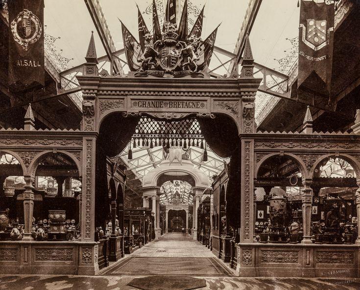 369 best 1889 paris exposition universelle images on - Office tourisme grande bretagne paris ...