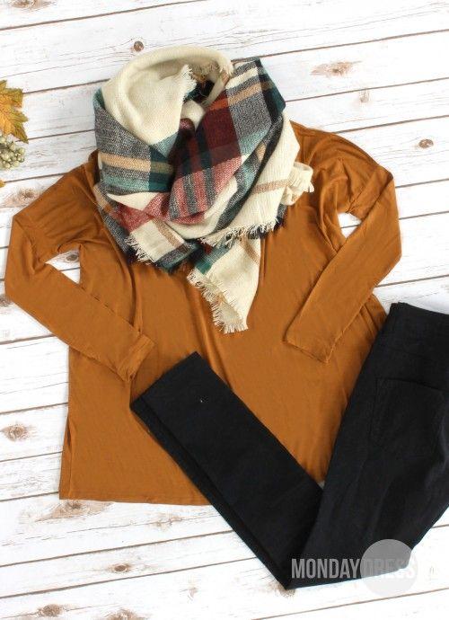 December Love Blanket Scarf | Monday Dress Boutique
