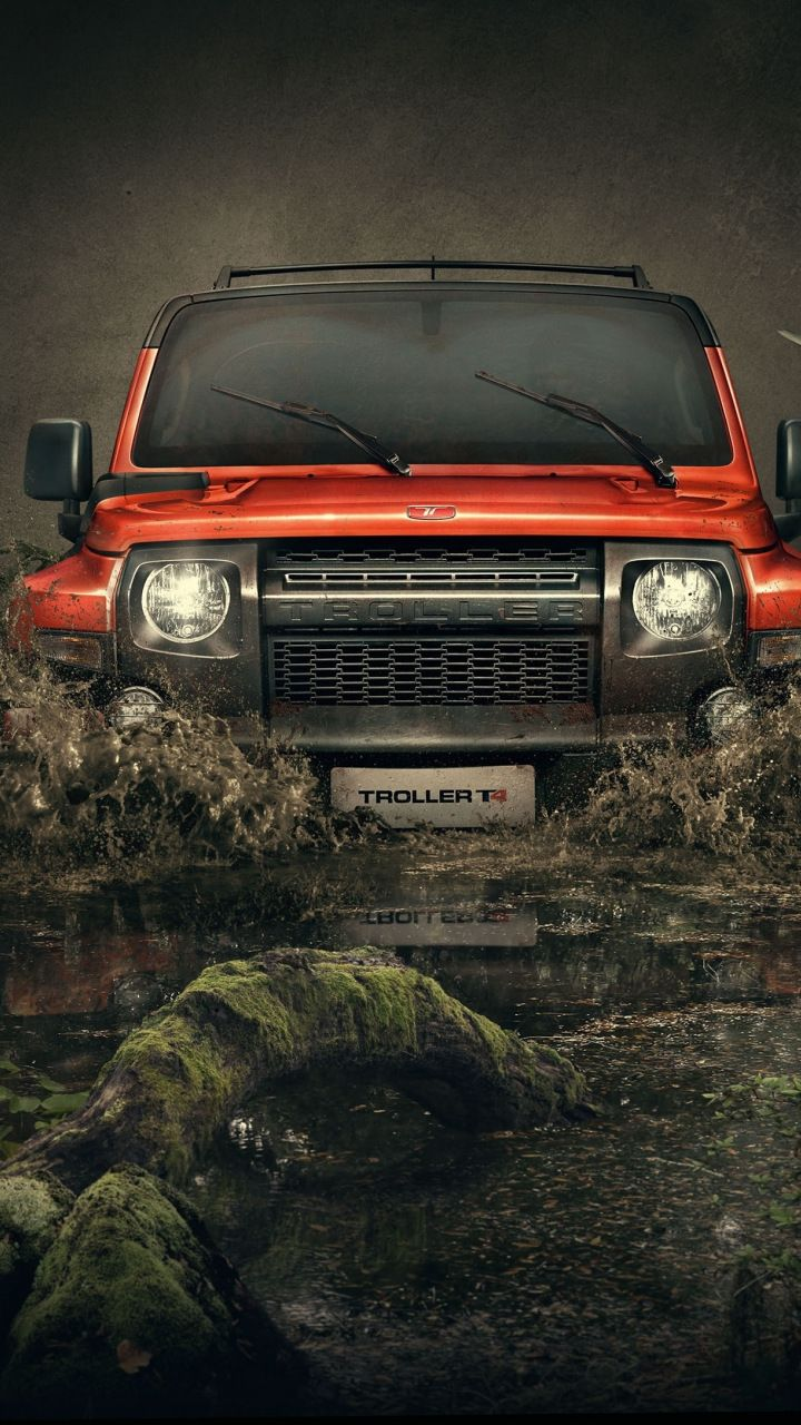 Outdoor Troller T4 Suv Car 720x1280 Wallpaper Dslr