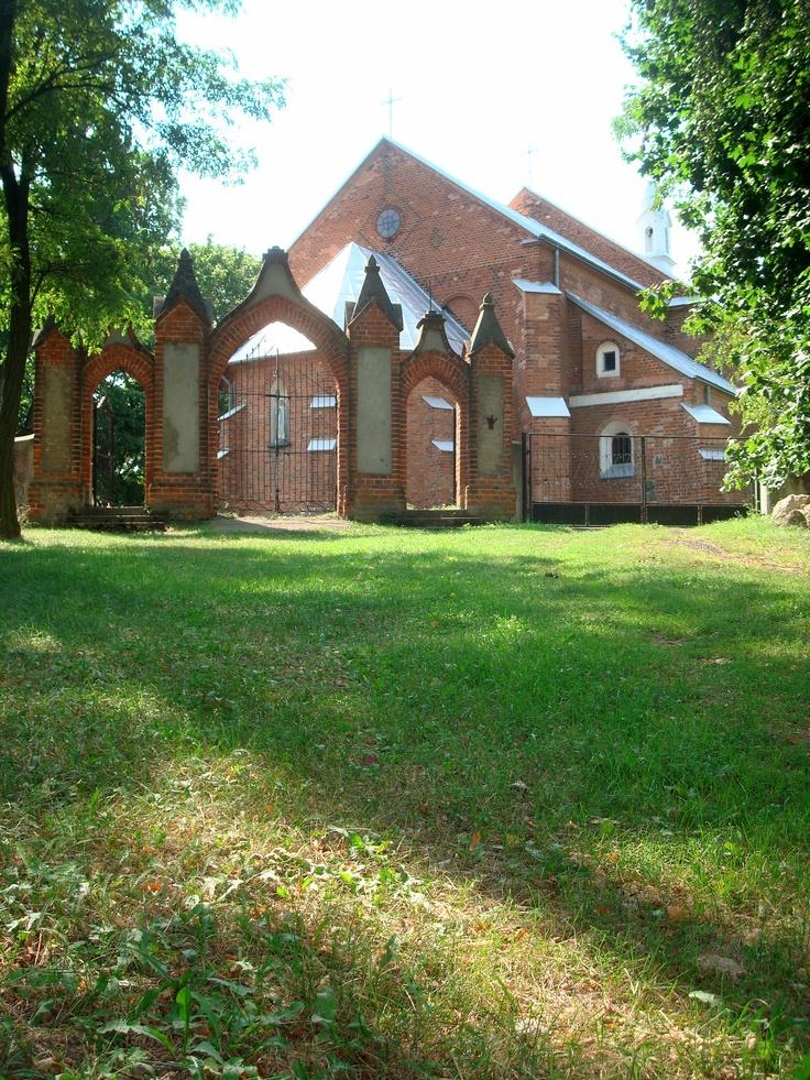 Krysk - kościół p.w. św. Floriana