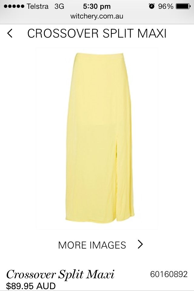 Yummy yellow summer must have