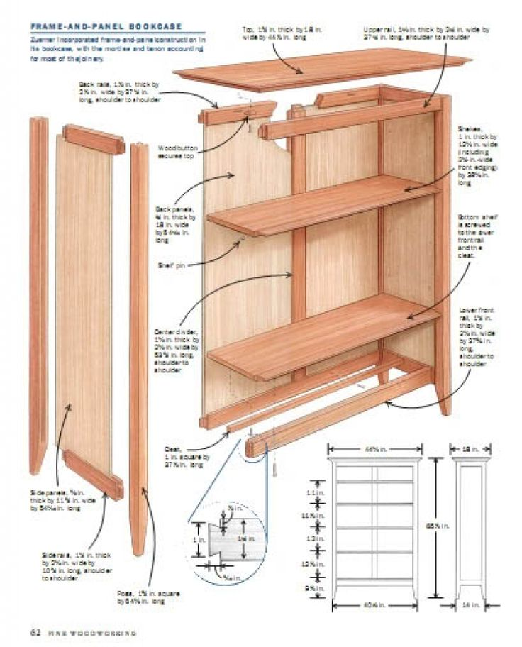 1000 ideas about bookcase plans on furniture