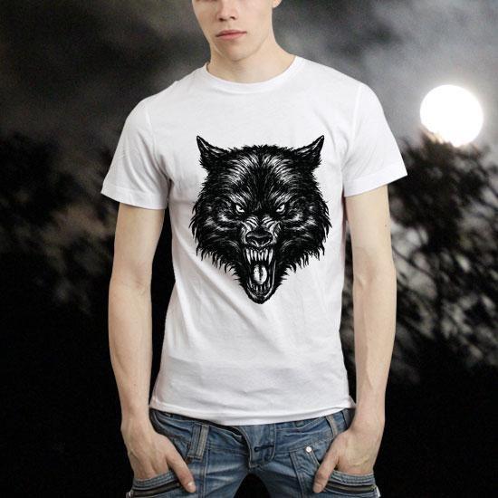 Camiseta Lobo Mau – Funflyship - http://batecabeca.com.br/camiseta-lobo-mau-funflyship-funflyship.html