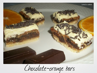 Chocolate-Orange bars!