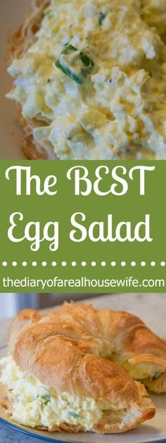 The Best Egg Salad. Need something to do with all those easter eggs this year? The best egg salad every! My kids even loved it.