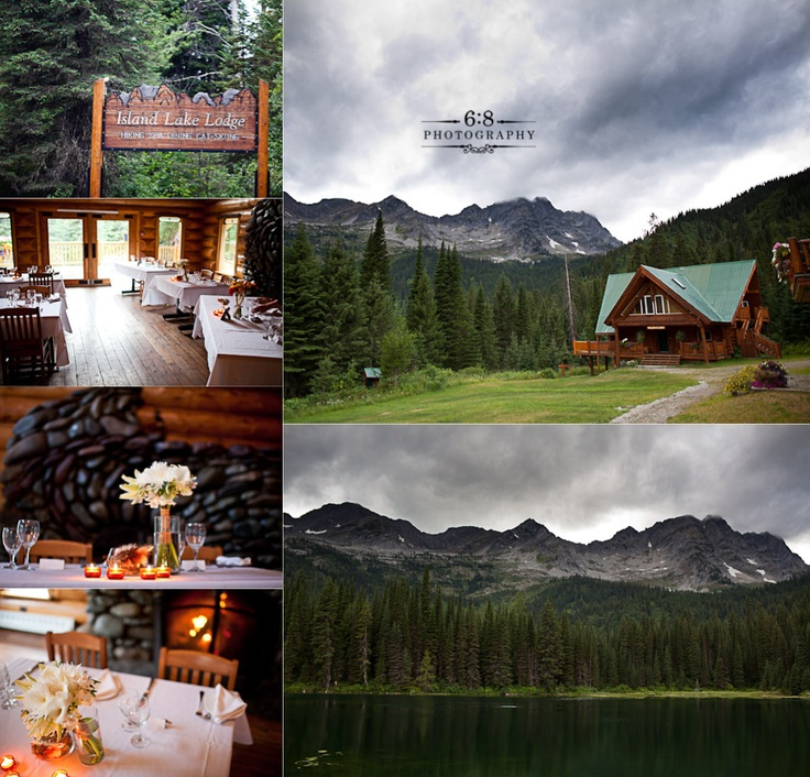National Geographic calls it one of the top places to stay on the entire planet. It's a 15 minute drive from my house. Amazing, amazing place. One that we shot up here last summer: http://68photography.ca/2011/09/island-lake-lodge-wedding-photographers-cm/