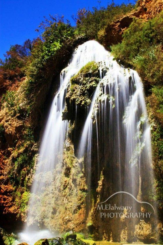 Waterfall in Derna, Libya.     THE LIBYAN  Esther Kofod  www.estherkofod.com