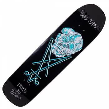 """Welcome Skateboards Conjunction Black on Eclipse Skateboard Deck 8.25"""""""