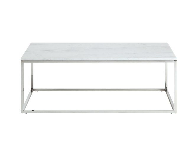 CARRIE Soffbord 120 Silver/Vit -