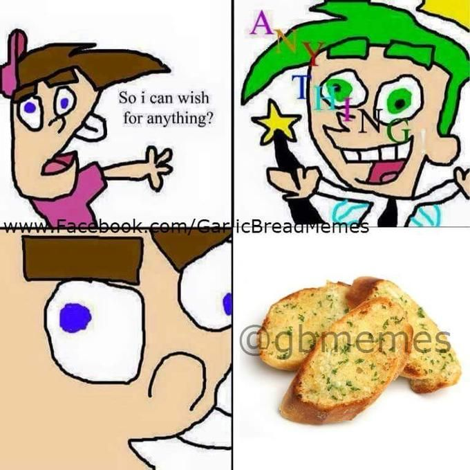 So I Can Wish For Anything? | Know Your Meme    So I Can Wish For Anything? is a crudely drawn parody of children's animated TV series The Fairly OddParents in which the character Timmy Turner wishes for various negative things from his fairy godparent, Cosmo.    Read more at KnowYourMeme.com.