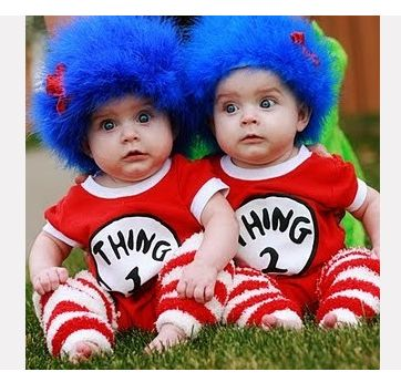 Kyra this would be an awesome Halloween costume idea for Sophia and Marc Super Easy Wig Tutorial for Dr. Seussu0027 Thing 1 and Thing THE cutest idea for ...  sc 1 st  Pinterest & 125 best Costume Ideas images on Pinterest | Carnival Fashion ...