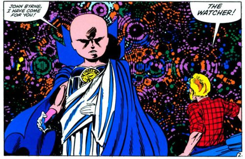 Panel from Fantastic Four #262 published by Marvel Comics...  Panel from Fantastic Four #262 published by Marvel Comics January 1984.