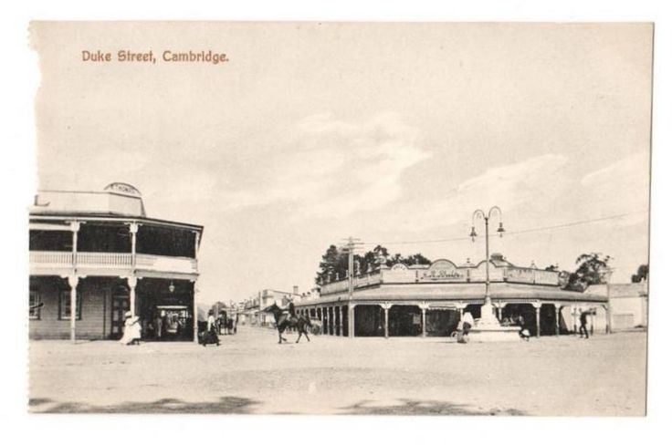 Postcard of Duke Street Cambridge. - 45853 - Postcard - Postcards Waikato - Postcards New Zealand - Postcards By Country - EASTAMPS