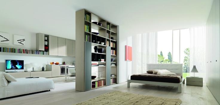 Giorno Zalf Ambientazione progettazione casa funzionale, prodotti di arredamento Bassi Arredamenti