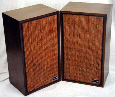 1968 Marantz Imperial Iv A Bookshelf Speakers Tube Amps