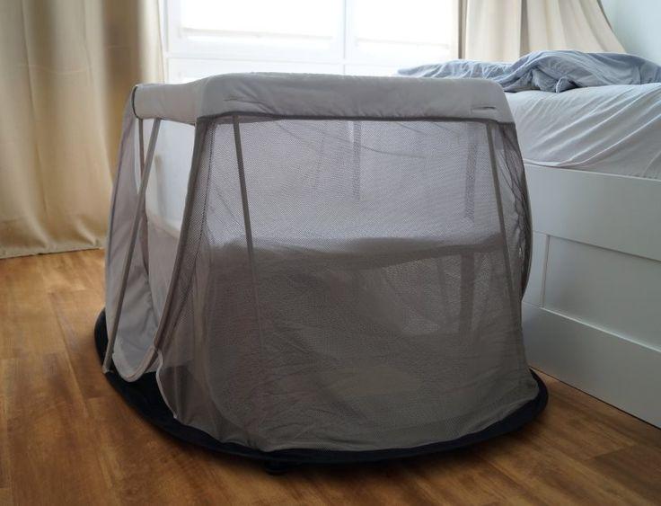 Gutes Schlafen unterwegs! Ein Reisebett, das mal so ganz anders ist: Leicht, gut verstaubar und wirklich schnell aufzubauen! Ich stelle Euch das AeroMoov Instant Reisebett vor.
