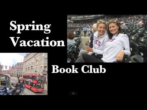 Spring Vacation Book Club! @Nataleigh B & Lindsay share their current reading recommendations!
