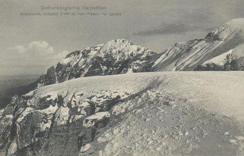 Kárpátok:Bucsecs,Zerge csúcs.(2494 méter).1914