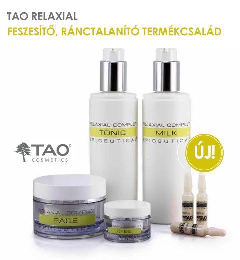 Tao Relaxial feszesítő termékcsalád