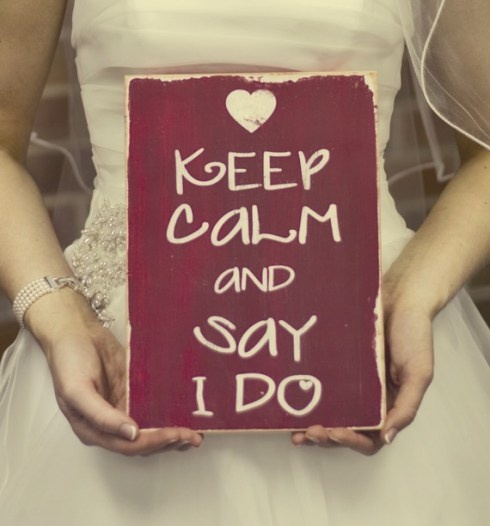 "A ""Keep Calm"" that made me smile like a schoolgirl."