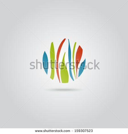 Nature icon. Concept of well being, nature, biodiversity, ecology. Vector design