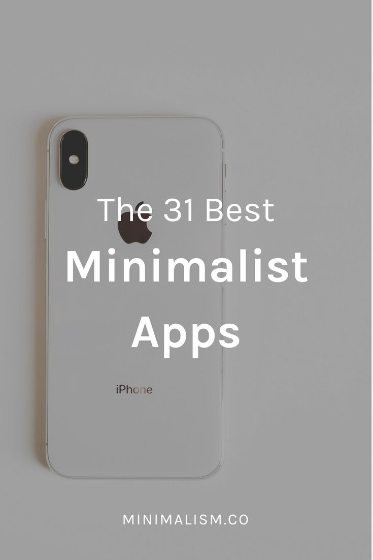 65 minimalist apps to simplify your life