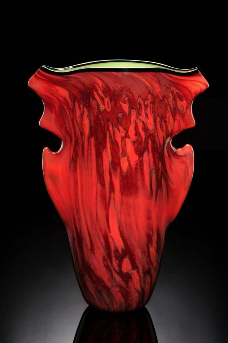 73 best red art glass images on pinterest art glass sculpture hand blown art glass aerolith vase by bernard katz reviewsmspy