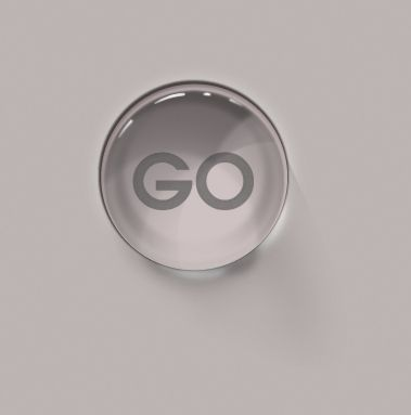 Glass element button