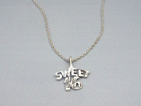 Sweet 16 Necklace Sterling Silver Necklace, Sweet 16 Gift for Daughter Gift, Sweet Sixteen Gift, Sweet 16 Favors, Sweet 16 Jewelry for Teens