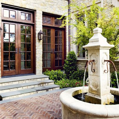 One day I will have a courtyard :)