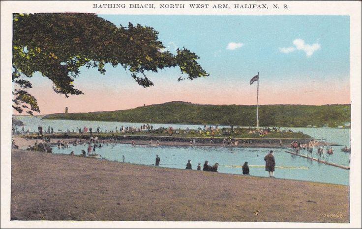 Bathing Beach , North West Arm , HALIFAX , Nova Scotia ,Canada , 1900-10s