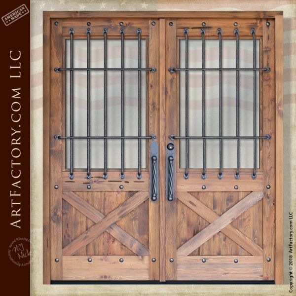 Art Factory Home Custom Solid Wood Doors And Master Handcrafted Furnishings Double Doors Hand Crafted Doors Double Doors Exterior